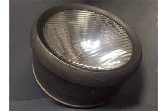 A large American Parabeam headlamp made by C.M. Hall Lamp Company ...