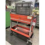 Rolling Tool Cart w/Craftsman Tool Box