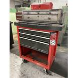 Rolling Base Cabinet Tool Box w/ (2) Tool Boxes
