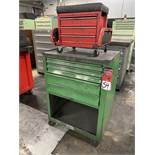 Rolling Base Cabinet Tool Box w/ Tool Box