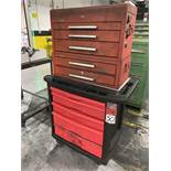 Rubbermaid Rolling Base Cabinet Tool Box w/ Kennedy Topper Tool Box