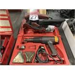 Lot Comprising BLACK & DECKER BR400 Belt Sander and MILWAUKEE 8975 Heat Gun