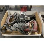 "Lot Comprising Milwaukee 1/2"" Hand Drill and Milwaukee 6511 Sawzall"
