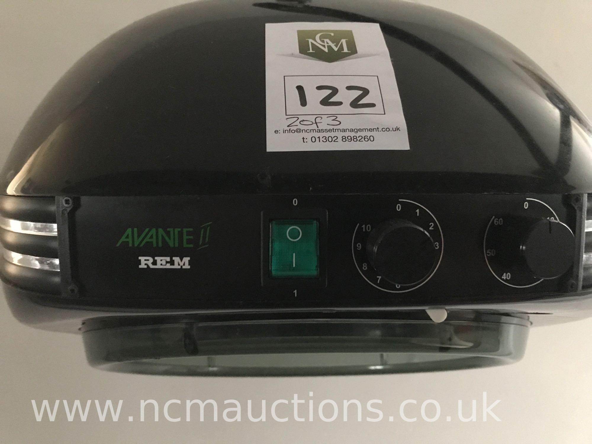Los 122 - 2x Avante2 REM hair dryer and a Solara infra REM hair setter