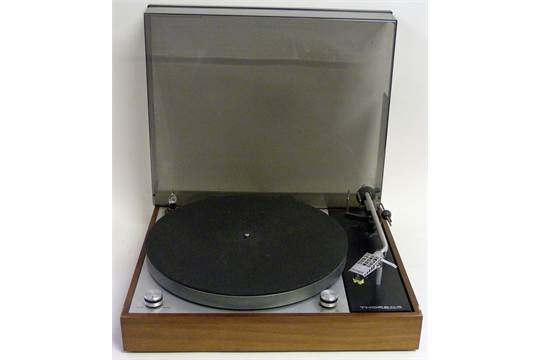 Thorens TD-150 MKII TurntableReleased in 1969 this highly
