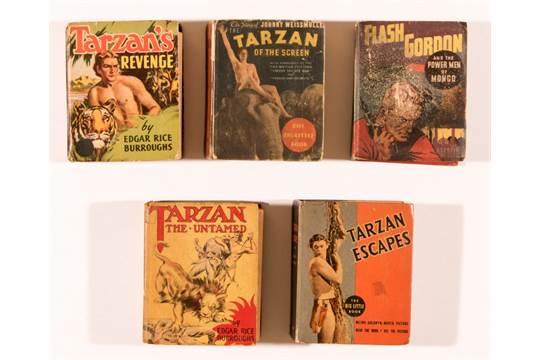 Tarzan Big Little Books + (1930s-40s)  778: Tarzan Of The