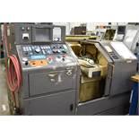 "HARDINGE CS-GT CNC LATHE WITH GE FANUC SERIES 18-T CNC CONTROL, 11.76"" SWING, 9"" MAX. TURNING"