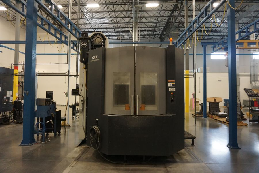 "OKK HM800S 4-Axis, Fanuc 310iS Model A, (2) 32"" Pallet, 12K RPM, CT50, 160 ATC, CTS, Chip - Image 9 of 20"