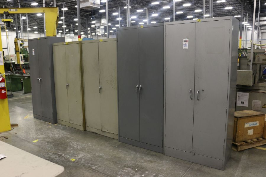 Lot 1018 - Assorted 2 Door Cabinets