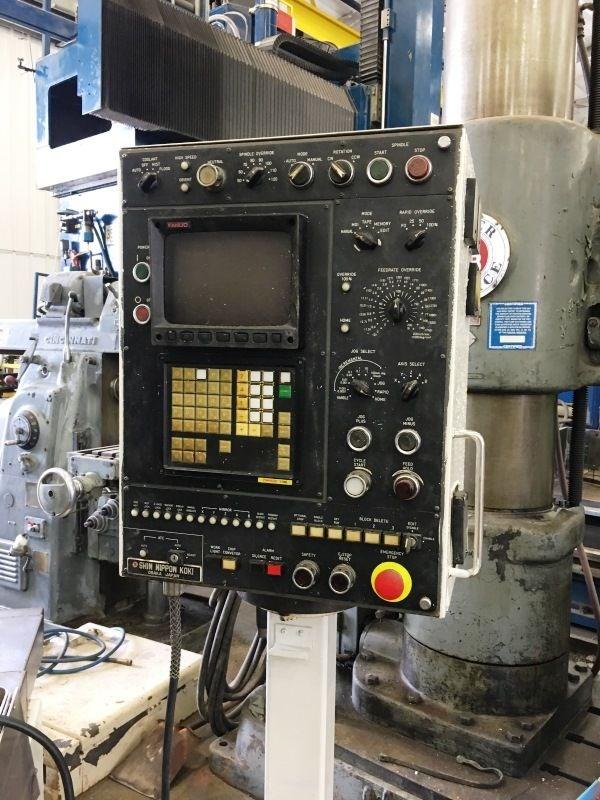 """SNK PC-60V 5-Axis CNC Profiler, Fanuc 11M Control, 60"""" x 25"""" x 18"""" Travels, 24 ATC, Cat 50 Taper, - Image 10 of 10"""