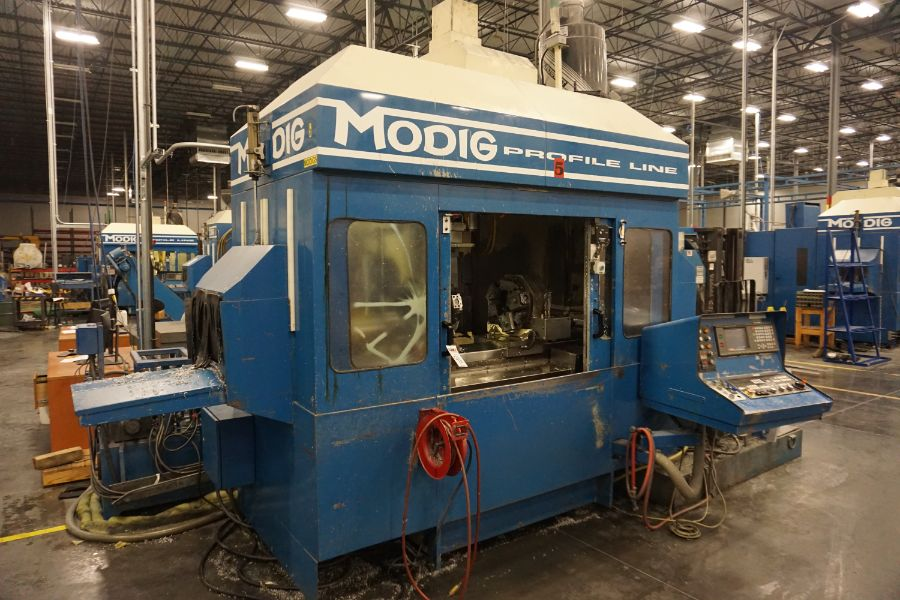 Modig MD7200, Fanuc 16M, 20K RPM, 24 ATC, CT40, s/n 970329, New 1997 - Image 7 of 16