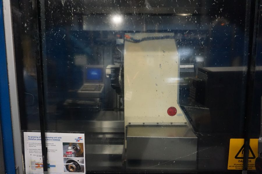 Modig HHV 4-Axis High Speed Extrusion Mill, Fanuc 30i Model B, Fischer 1700 mm 30K Spindle, 28000 - Image 4 of 18