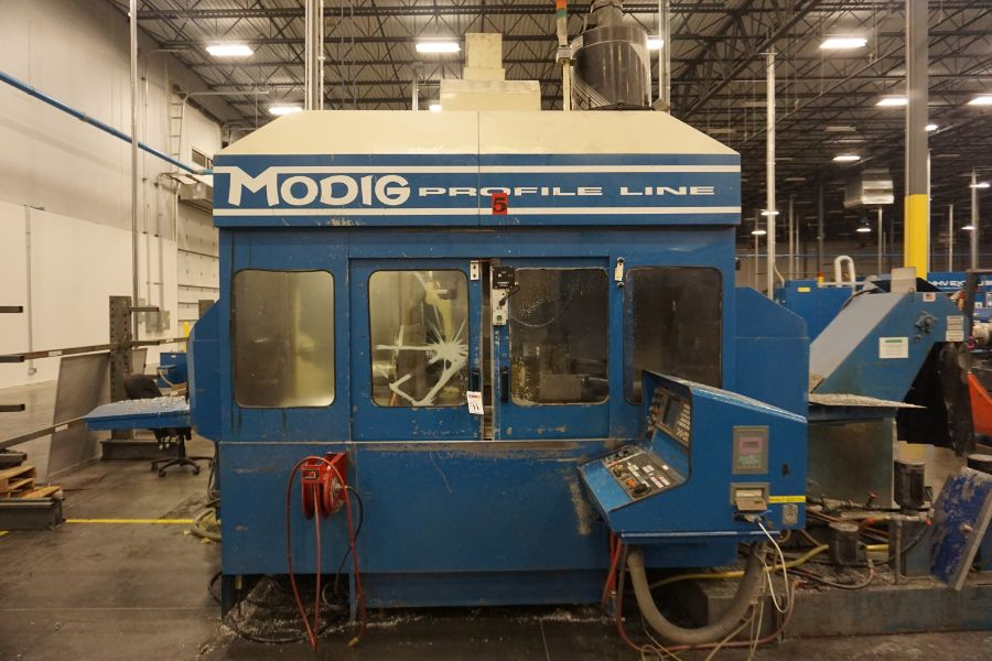 Modig MD7200, Fanuc 16M, 20K RPM, 24 ATC, CT40, s/n 970329, New 1997 - Image 8 of 16
