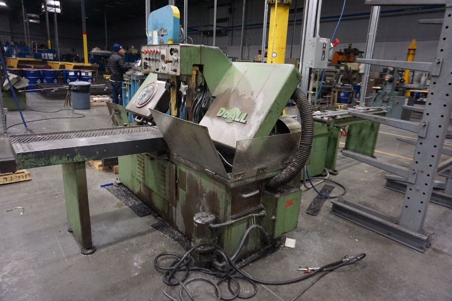 """DoAll C-1216A Hydraulic Horizontal Bandsaw, 160"""" Blade, s/n 373-79273 - Image 7 of 9"""