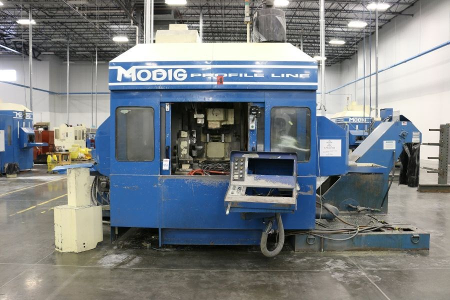 Modig MD7200, Fanuc 16M Control, 20K RPM, 24 ATC, CT40, s/n 970330, New 1997 *Parts Only Machine* - Image 4 of 7