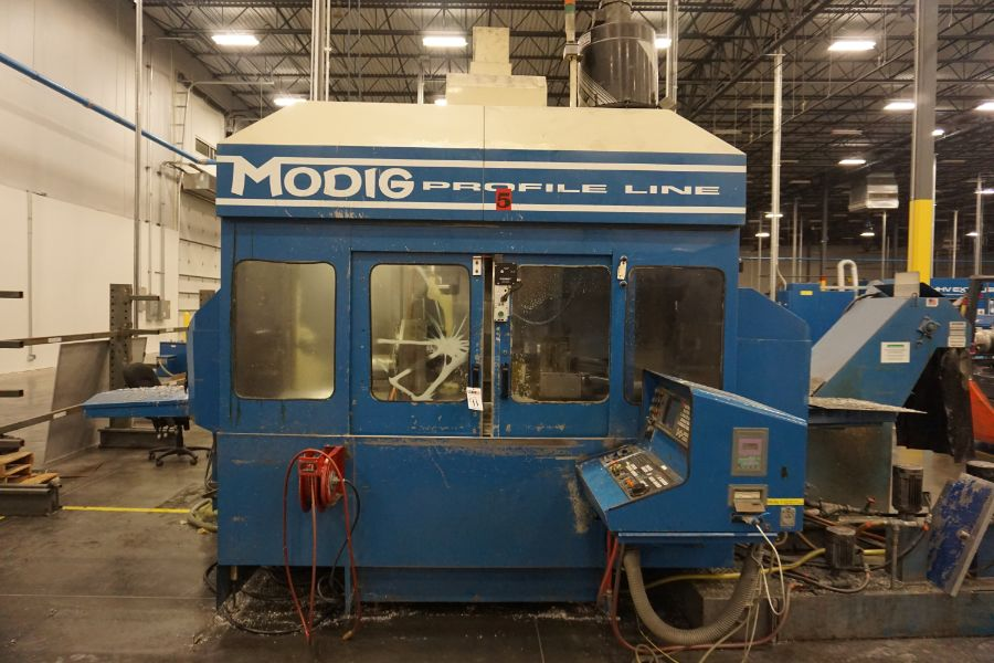 Modig MD7200, Fanuc 16M, 20K RPM, 24 ATC, CT40, s/n 970329, New 1997 - Image 5 of 16