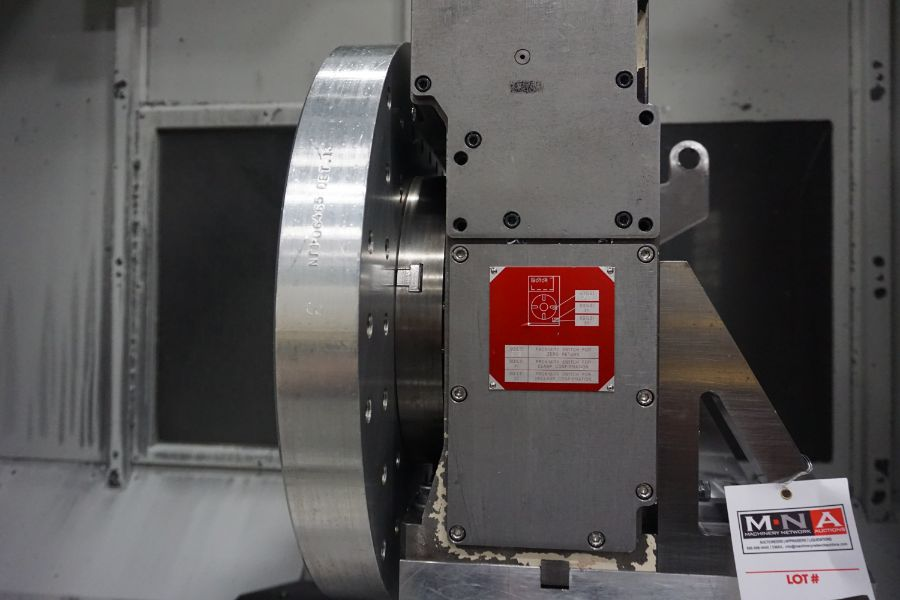 """OKK HM800 5-Axis, Fanuc 31i Model A5, (2) 32"""" Pallets, 12k RPM, CT50, 60 ATC, New 2011 with 12"""" - Image 15 of 17"""