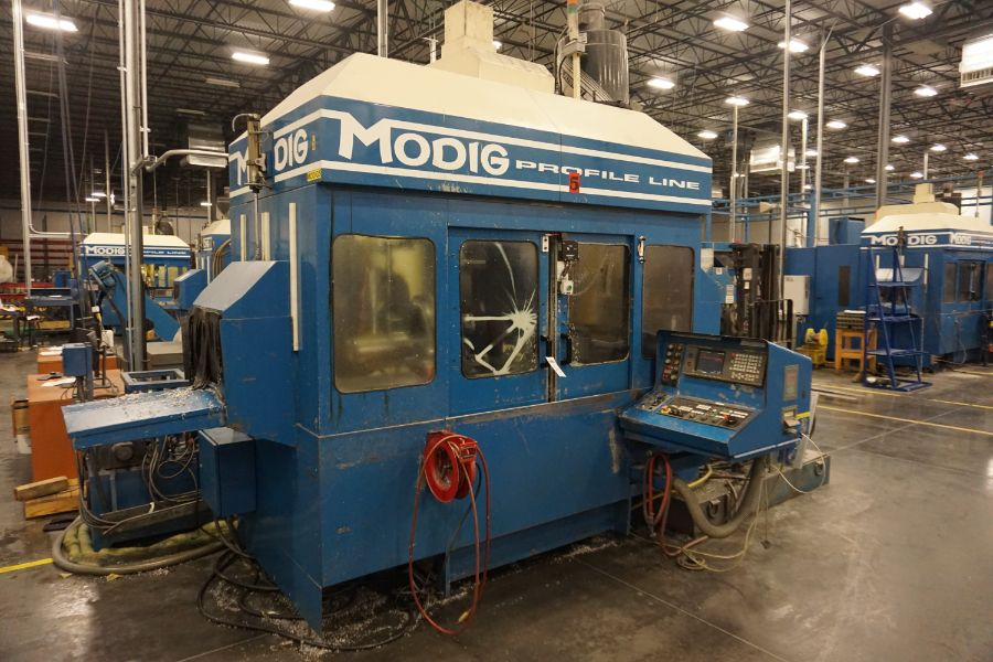 Modig MD7200, Fanuc 16M, 20K RPM, 24 ATC, CT40, s/n 970329, New 1997 - Image 4 of 16