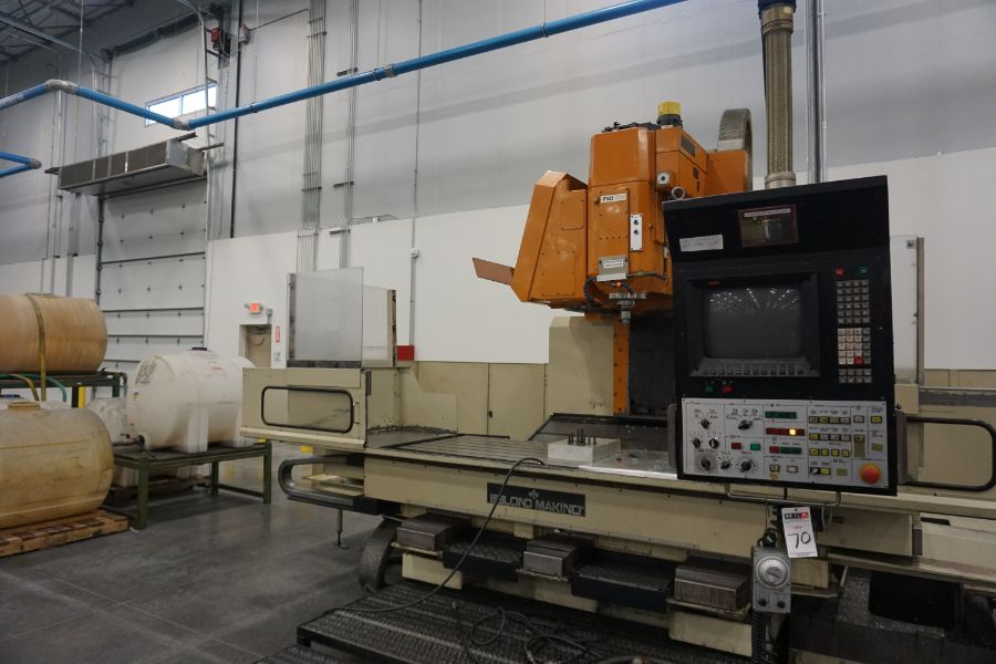 LeBlond Makino FNC 178 4-Axis, Fanuc 11M Ctrl, 79'' x 31''x 31''x 27'' Travels, 3,200 RPM, with 30 - Image 3 of 14