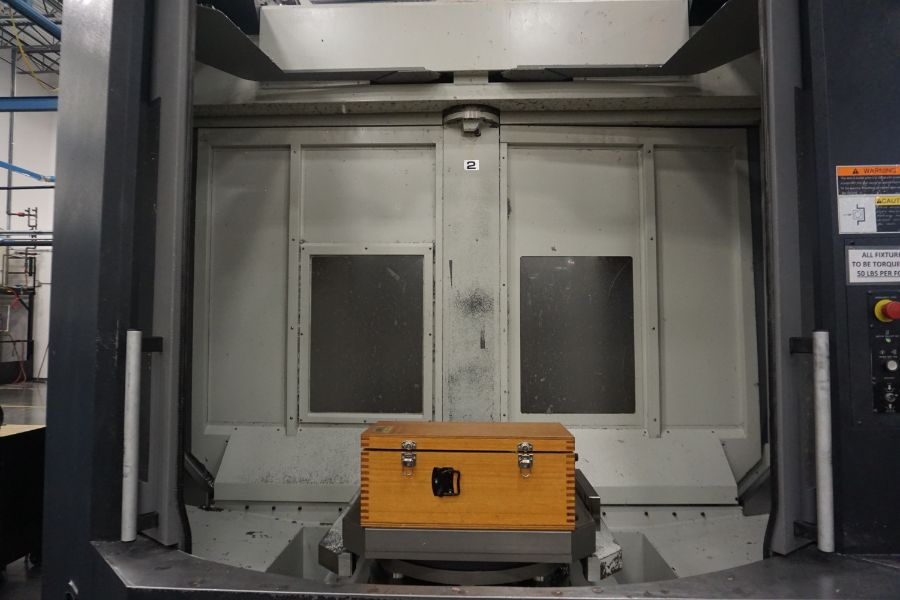 "OKK HM800S 4-Axis, Fanuc 310iS Model A, (2) 32"" Pallet, 12K RPM, CT50, 160 ATC, CTS, Chip - Image 20 of 20"