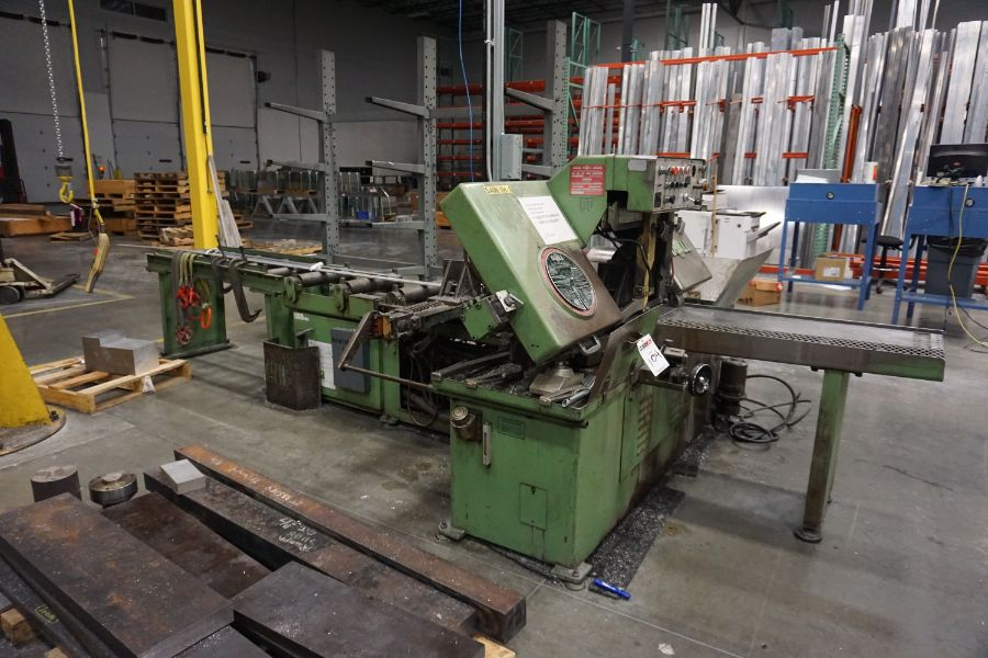 """DoAll C-1216A Hydraulic Horizontal Bandsaw, 160"""" Blade, s/n 373-79273 - Image 4 of 9"""