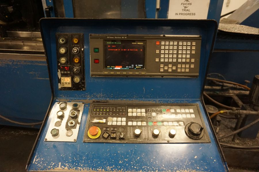 Modig MD7200, Fanuc 16M, 20K RPM, 24 ATC, CT40, s/n 970331, New 1997 - Image 12 of 14