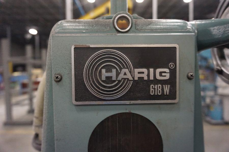 Harig 618W Surface Grinder, s/n 1 - Image 7 of 7