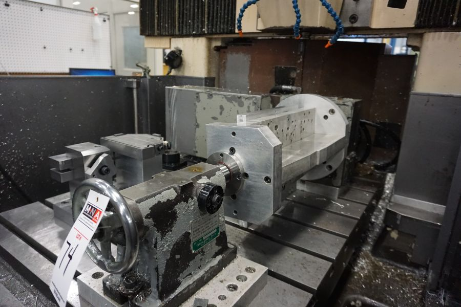LeBlond Makino FNC 178 4-Axis, Fanuc 11M Ctrl, 79'' x 31''x 31''x 27'' Travels, 3,200 RPM, with 30 - Image 12 of 14