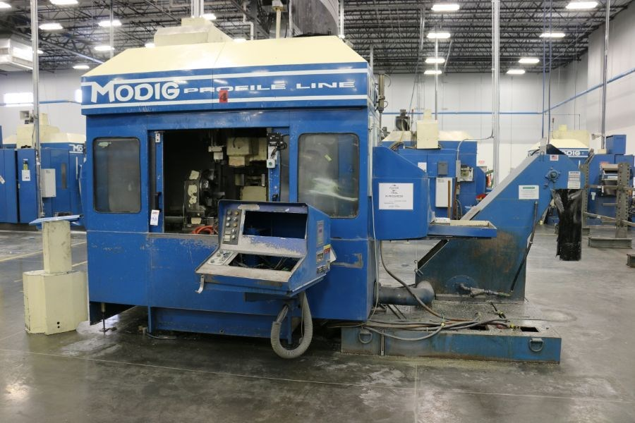 Modig MD7200, Fanuc 16M Control, 20K RPM, 24 ATC, CT40, s/n 970330, New 1997 *Parts Only Machine*
