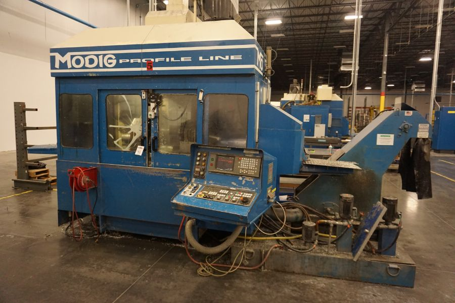 Modig MD7200, Fanuc 16M, 20K RPM, 24 ATC, CT40, s/n 970329, New 1997 - Image 3 of 16