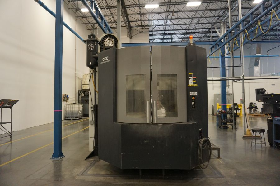 """OKK HM800 5-Axis, Fanuc 31i Model A5, (2) 32"""" Pallets, 12k RPM, CT50, 60 ATC, New 2011 with 12"""" - Image 4 of 17"""