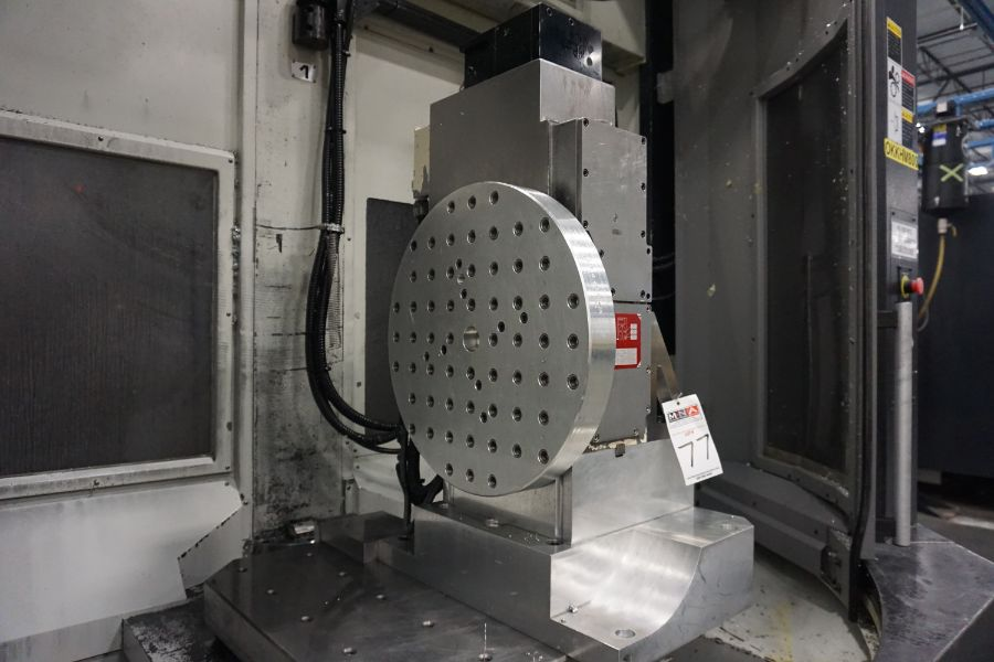 """OKK HM800 5-Axis, Fanuc 31i Model A5, (2) 32"""" Pallets, 12k RPM, CT50, 60 ATC, New 2011 with 12"""" - Image 17 of 17"""