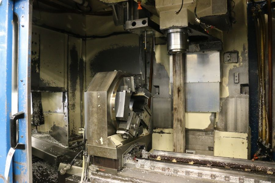 Modig MD7200, Fanuc 16M Control, 20K RPM, 24 ATC, CT40, s/n 970328, New 1997 *Parts Only Machine* - Image 5 of 8