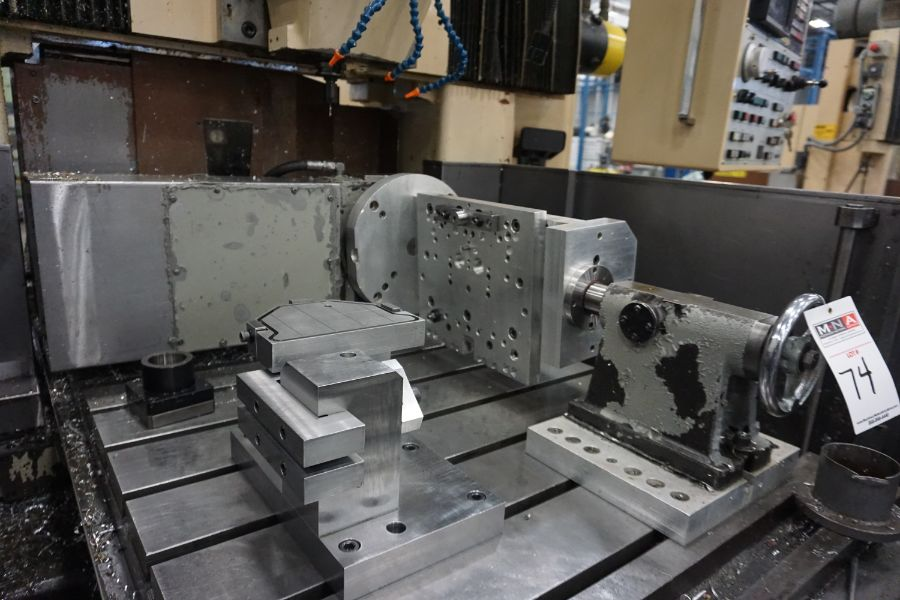LeBlond Makino FNC 178 4-Axis, Fanuc 11M Ctrl, 79'' x 31''x 31''x 27'' Travels, 3,200 RPM, with 30 - Image 13 of 14