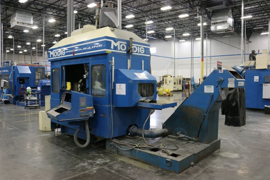 Modig MD7200, Fanuc 16M Control, 20K RPM, 24 ATC, CT40, s/n 970330, New 1997 *Parts Only Machine* - Image 3 of 7