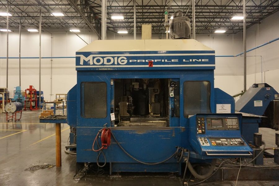 Modig MD7200, Fanuc 16M, 20K RPM, 24 ATC, CT40, s/n 970331, New 1997 - Image 3 of 14