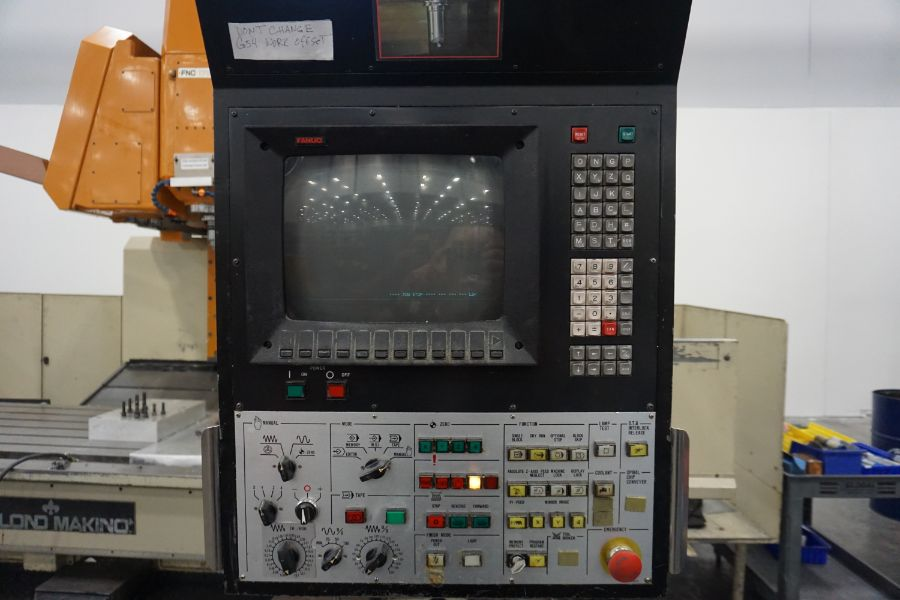 LeBlond Makino FNC 178 4-Axis, Fanuc 11M Ctrl, 79'' x 31''x 31''x 27'' Travels, 3,200 RPM, with 30 - Image 10 of 14