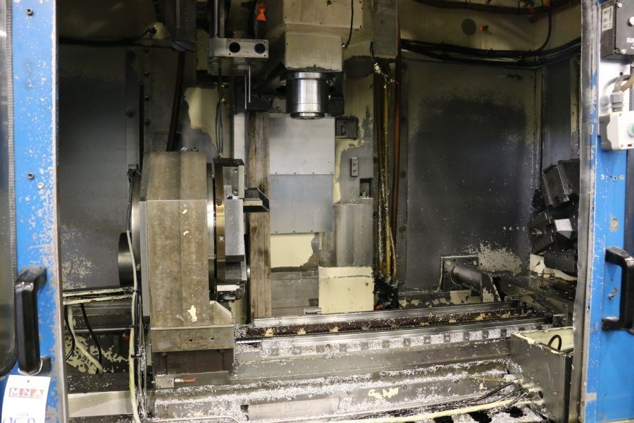 Modig MD7200, Fanuc 16M Control, 20K RPM, 24 ATC, CT40, s/n 970328, New 1997 *Parts Only Machine* - Image 3 of 8