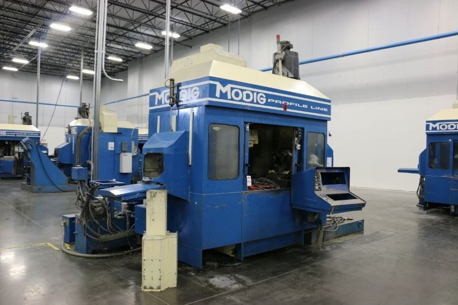 Modig MD7200, Fanuc 16M Control, 20K RPM, 24 ATC, CT40, s/n 970330, New 1997 *Parts Only Machine* - Image 2 of 7