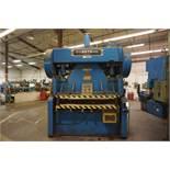 "Cyril Bath PT-6-150 150 Ton Air Clutch Press Brake, 63"" x 48"" Bed, s/n 5629 *Located in"
