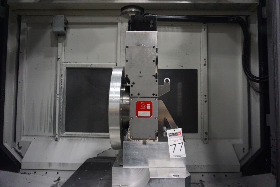 """OKK HM800 5-Axis, Fanuc 31i Model A5, (2) 32"""" Pallets, 12k RPM, CT50, 60 ATC, New 2011 with 12"""" - Image 16 of 17"""