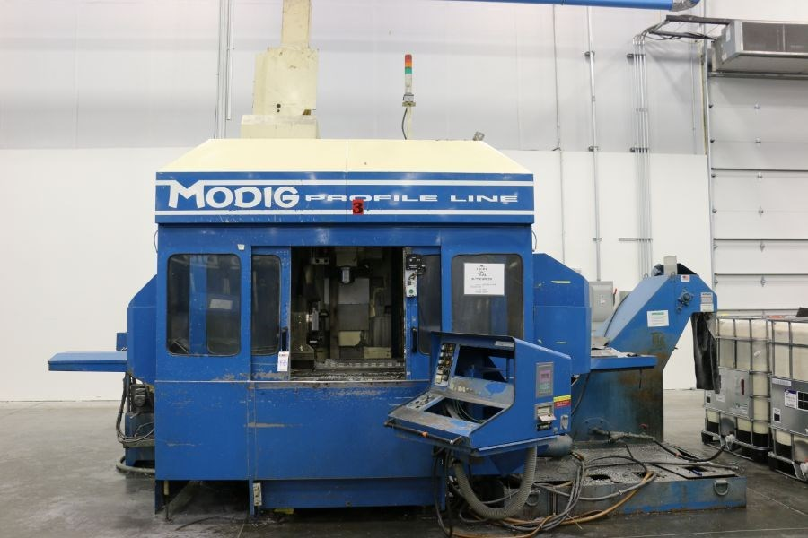 Modig MD7200, Fanuc 16M Control, 20K RPM, 24 ATC, CT40, s/n 970328, New 1997 *Parts Only Machine* - Image 6 of 8