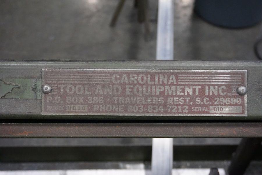 Carolina HD10 Horizontal Bandsaw, s/n LD1025321 - Image 4 of 4