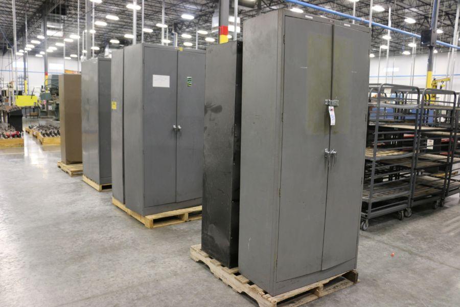 Lot 882 - Assorted 2 Door Cabinets
