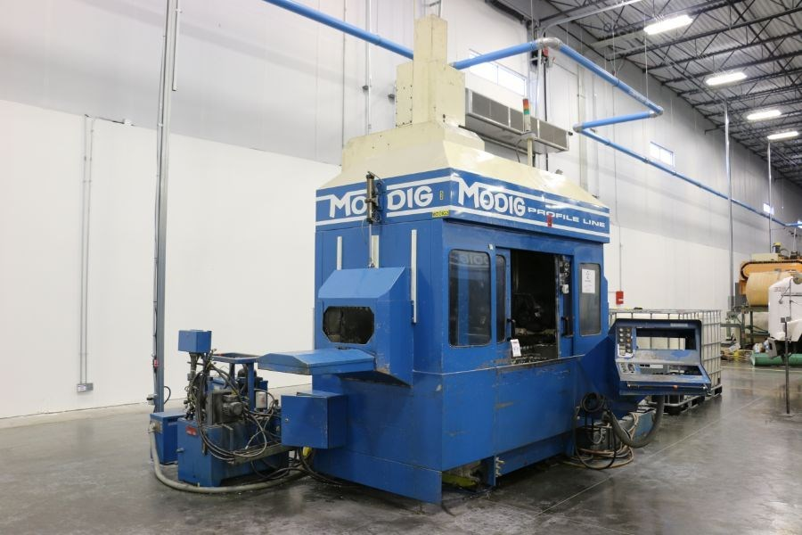 Modig MD7200, Fanuc 16M Control, 20K RPM, 24 ATC, CT40, s/n 970328, New 1997 *Parts Only Machine*