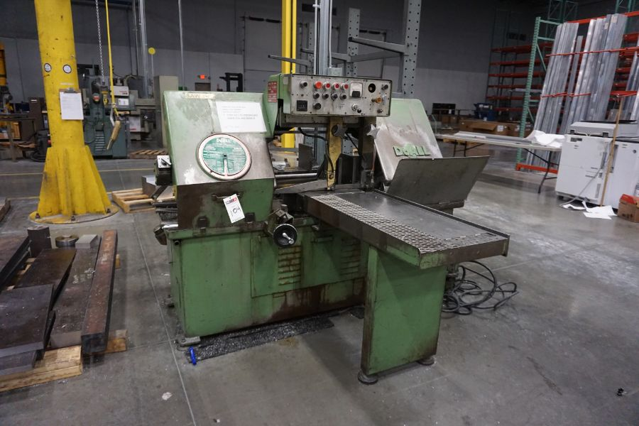"""DoAll C-1216A Hydraulic Horizontal Bandsaw, 160"""" Blade, s/n 373-79273 - Image 3 of 9"""