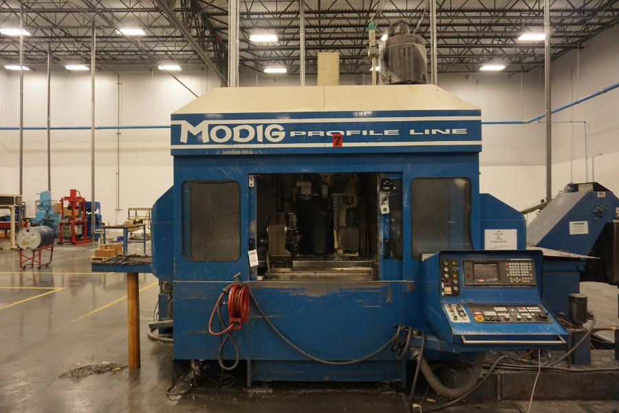 Modig MD7200, Fanuc 16M, 20K RPM, 24 ATC, CT40, s/n 970331, New 1997 - Image 4 of 14