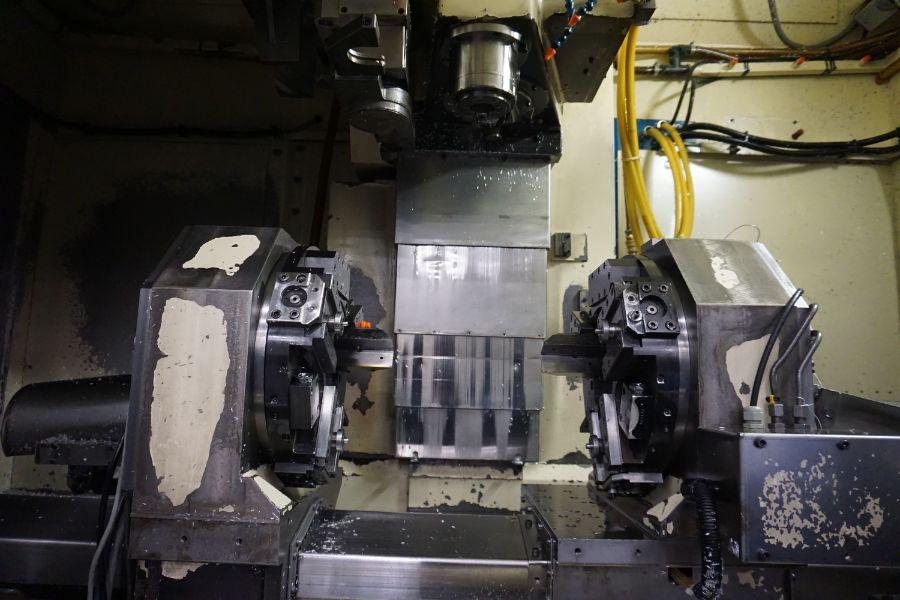 Modig MD7200, Fanuc 16M, 20K RPM, 24 ATC, CT40, s/n 970327, New 1997 - Image 9 of 14