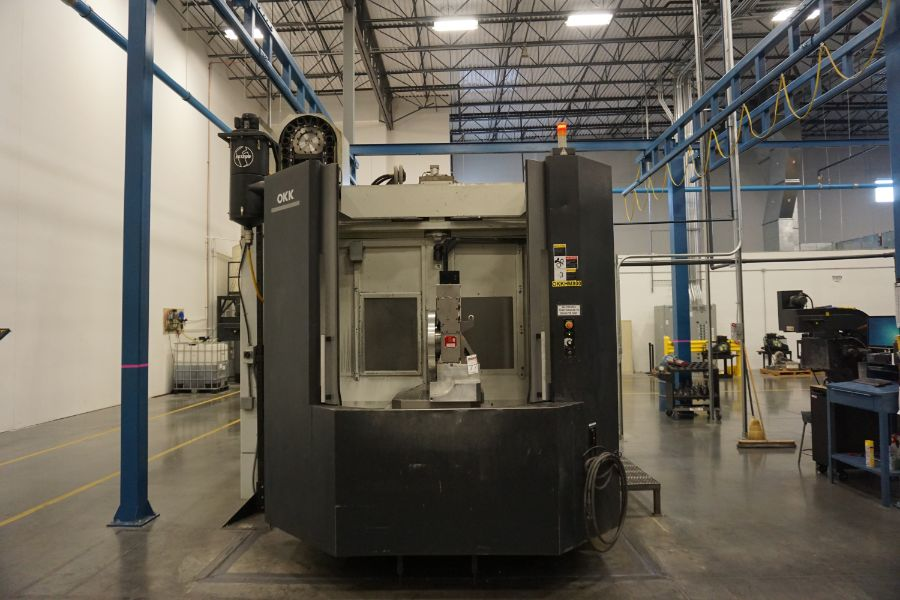 """OKK HM800 5-Axis, Fanuc 31i Model A5, (2) 32"""" Pallets, 12k RPM, CT50, 60 ATC, New 2011 with 12"""" - Image 3 of 17"""