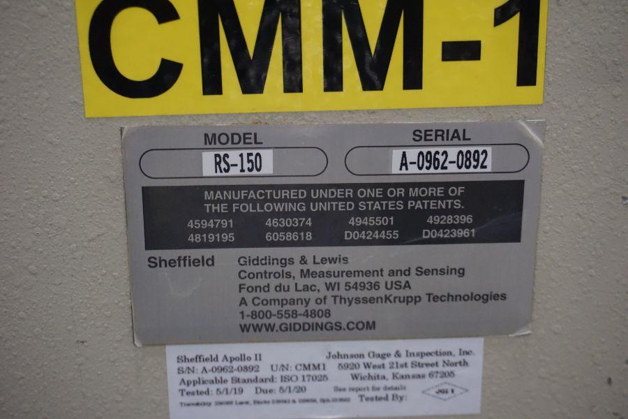 "G&L Sheffield RS-150 DCC CMM, 80"" X, Renishaw PH-10 MQ Probe, PC Dmis, Measuremax software, New - Image 7 of 7"